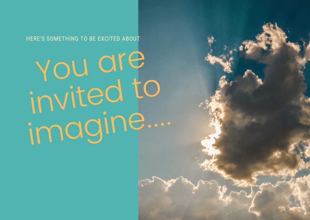 Invitation to creative proposals and to imagine