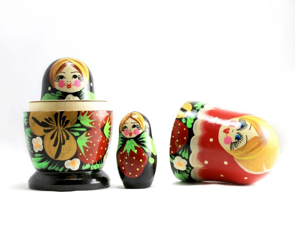 Russian dolls as child ego state