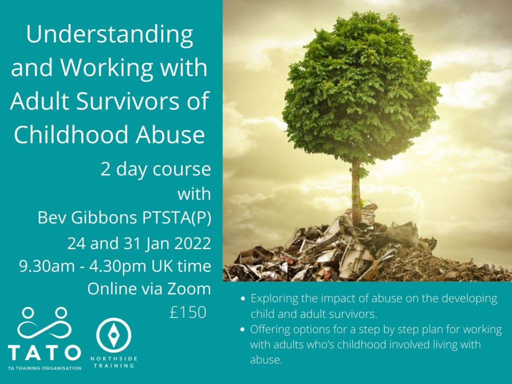 online courses - working with childhood abuse survivors